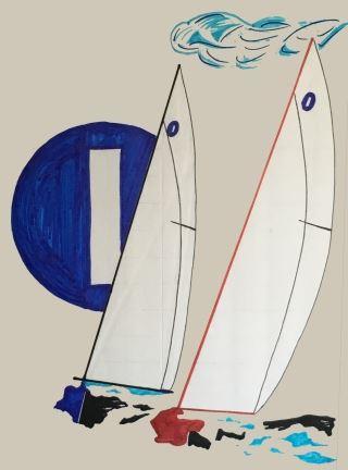 Used Iom Rc Sailboat